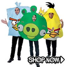 Picture for category Angry Birds Group Costumes