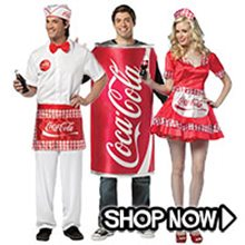 Picture for category Coke & Soda Kids Group Costumes