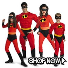 Picture for category The Incredibles Group Costumes