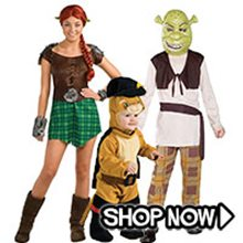 Picture for category Shrek & Fiona Group Costumes