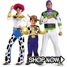 Picture for category Toy Story Group Costumes