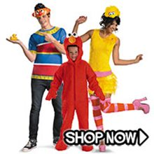 Picture for category Sesame Street Group Costumes