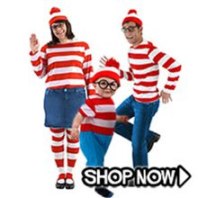 Picture for category Where's Waldo Group Costumes
