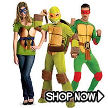 Picture for category Teenage Mutant Ninja Turtles Group Costumes