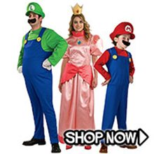 Picture for category Mario Brothers Group Costumes