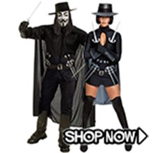 Picture for category V for Vendetta Couple Costumes