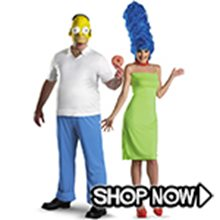 Picture for category The Simpsons Couple Costumes