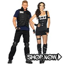 Picture for category SWAT Couple Costumes
