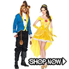 Picture for category Beauty & the Beast Couple Costumes