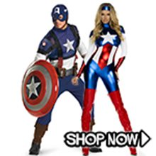 Picture for category Captain America Couple Costumes