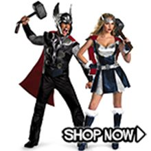 Picture for category Thor Couple Costumes