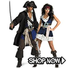 Picture for category Pirates of the Caribbean Couple Costumes