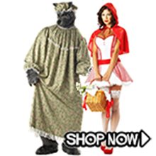 Picture for category Little Red Riding Hood Couple Costumes