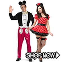 Picture for category Mickey Mouse & Minnie Mouse Couple Costumes