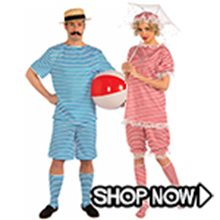 Picture for category 1920's Bathing Suit Couple Costumes