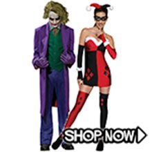 Picture for category Joker & Harley Quinn Couple Costumes
