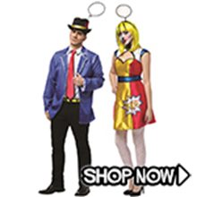 Picture for category Pop Art Couple Costumes