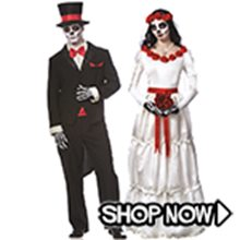 Picture for category Day of the Dead Couple Costumes