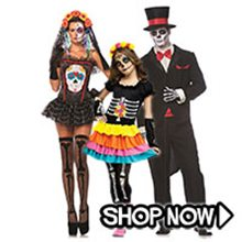 Picture for category Day of the Dead Group Costumes