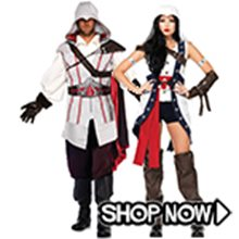 Picture for category Assassins Creed Couple Costumes