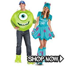 Picture for category Monsters University Couple Costumes