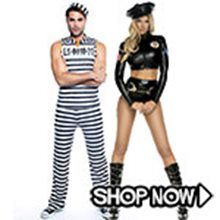 Picture for category Cops and Robbers Couple Costumes