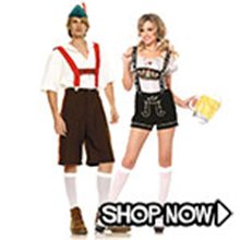 Picture for category Oktoberfest Couple Costumes