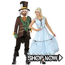 Picture for category Alice in Wonderland Couple Costumes