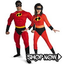 Picture for category The Incredibles Couple Costumes