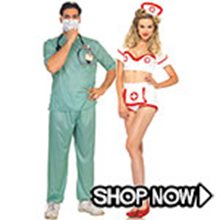 Picture for category Nurse and Doctor Couple Costumes