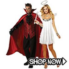 Picture for category Angel and Devil Couple Costumes