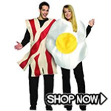 Picture for category Bacon and Eggs Couple Costumes