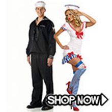 Picture for category Sailor Couple Costumes