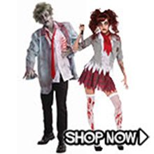 Picture for category Zombie Couple Costumes
