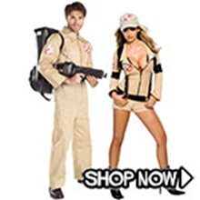 Picture for category Ghostbusters Couple Costumes