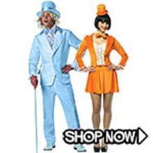 Picture for category Dumb and Dumber Couple Costumes