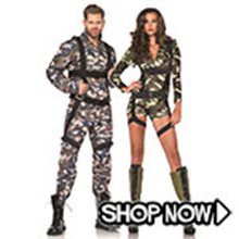Picture for category Army Couple Costumes