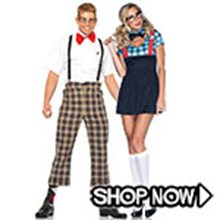 Picture for category Nerd Couple Costumes