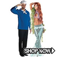 Picture for category Mermaid Couple Costumes
