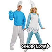 Picture for category The Smurfs Couple Costumes