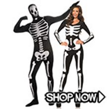 Picture for category Skeleton Couple Costumes