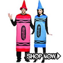 Picture for category Crayon Couple Costumes
