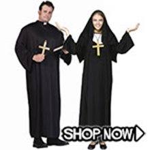 Picture for category Priest and Nun Couple Costumes