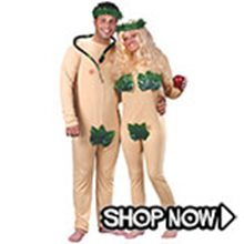 Picture for category Adam and Eve Couple Costumes
