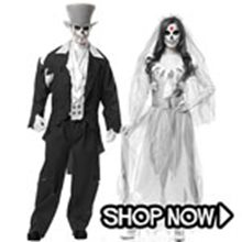 Picture for category Ghost Couple Costumes