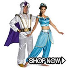 Picture for category Aladdin Couple Costumes