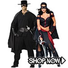 Picture for category Zorro Couple Costumes