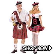Picture for category Scottish Couple Costumes