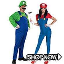 Picture for category Mario Brothers Couple Costumes