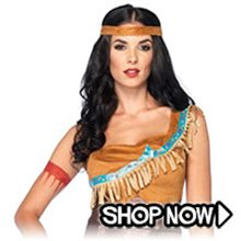 Picture for category Pocahontas Costumes